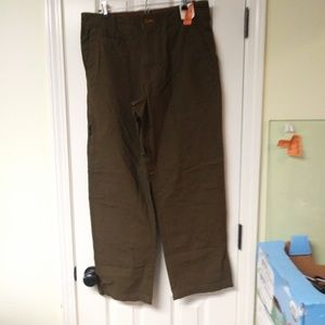 Outdoor Life Brown Utility work pants New